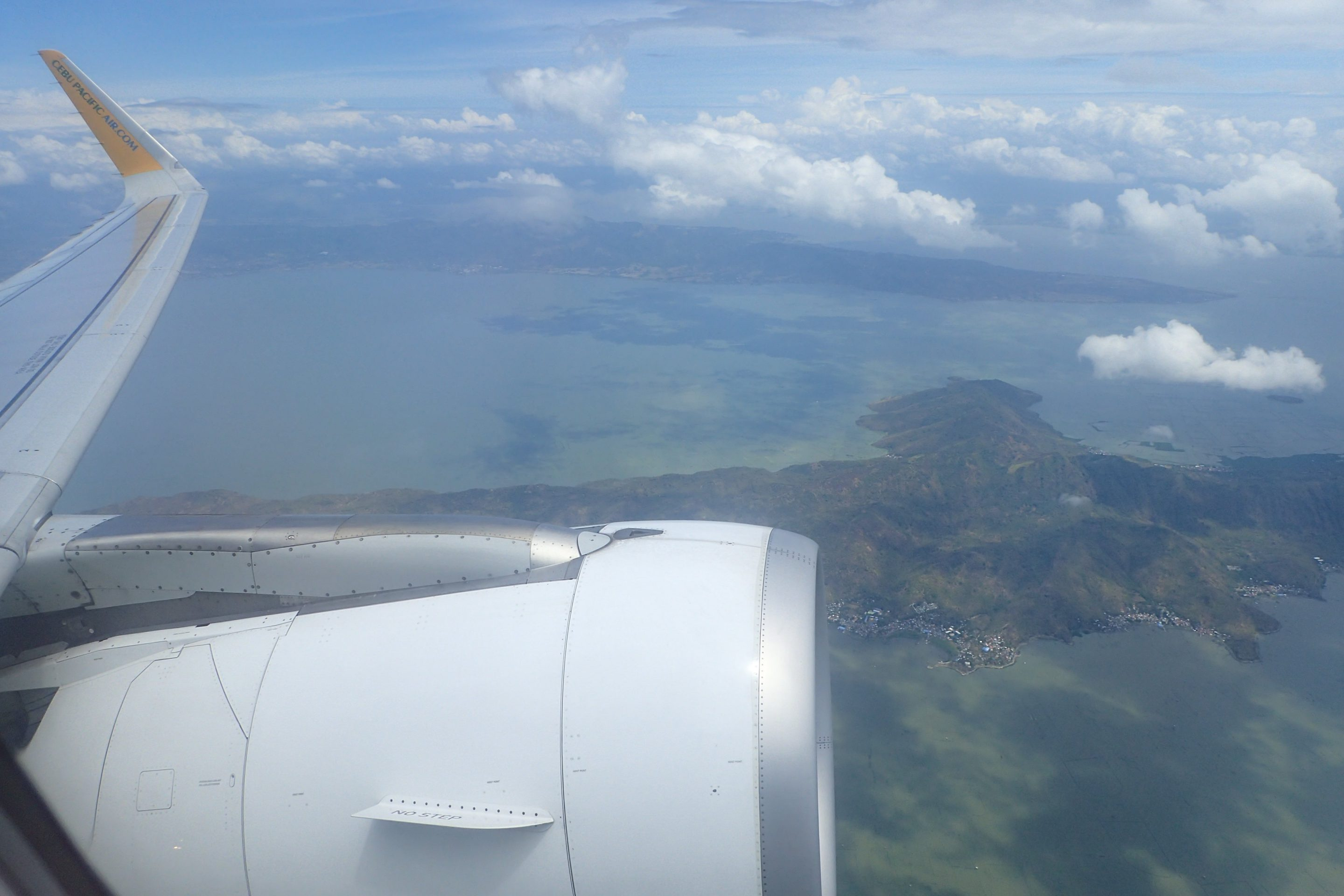 Approaching Bacolod