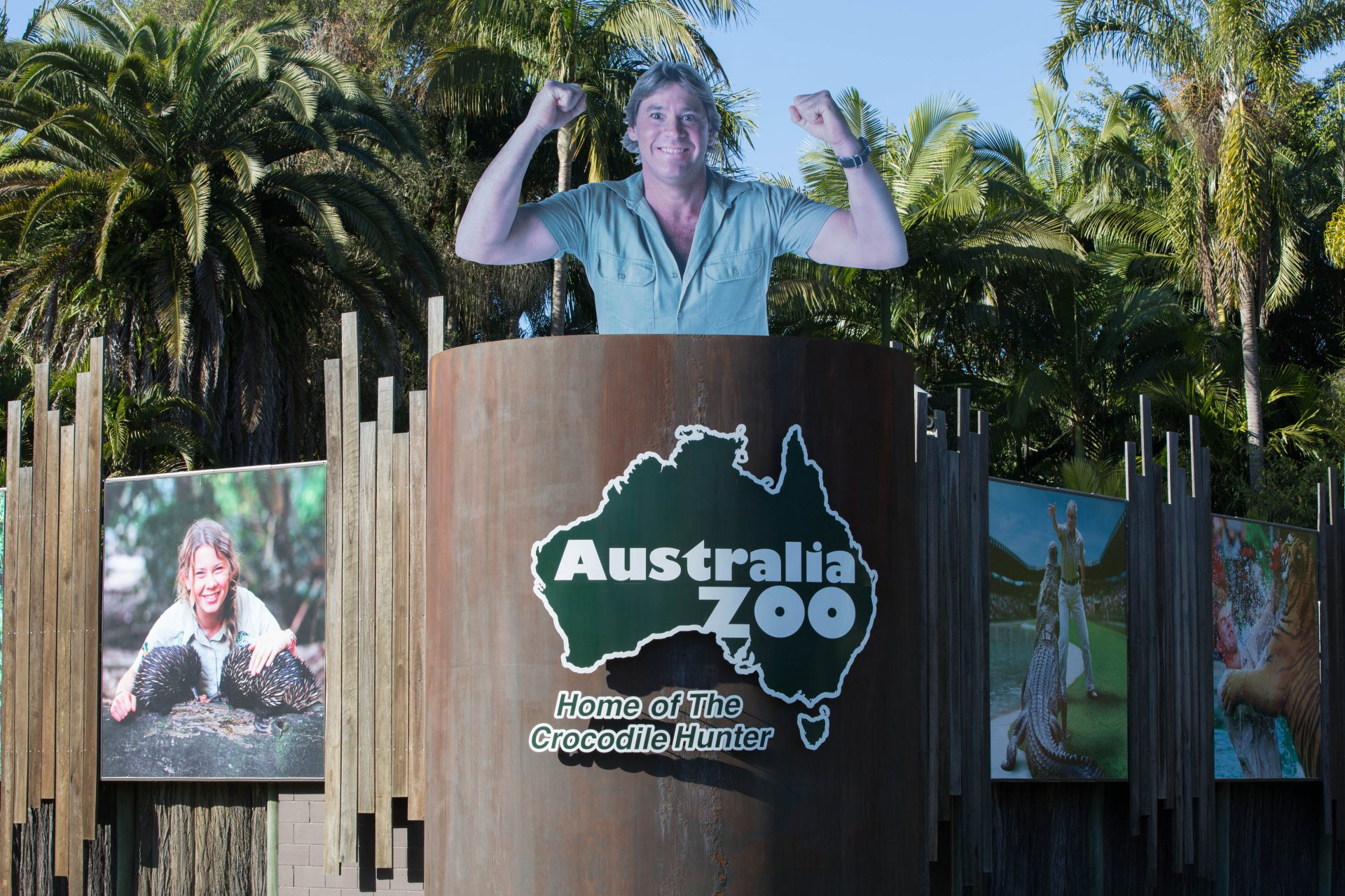 Steve Irwin´s family continues his legacy at the Australia Zoo, near Sunshine Coast