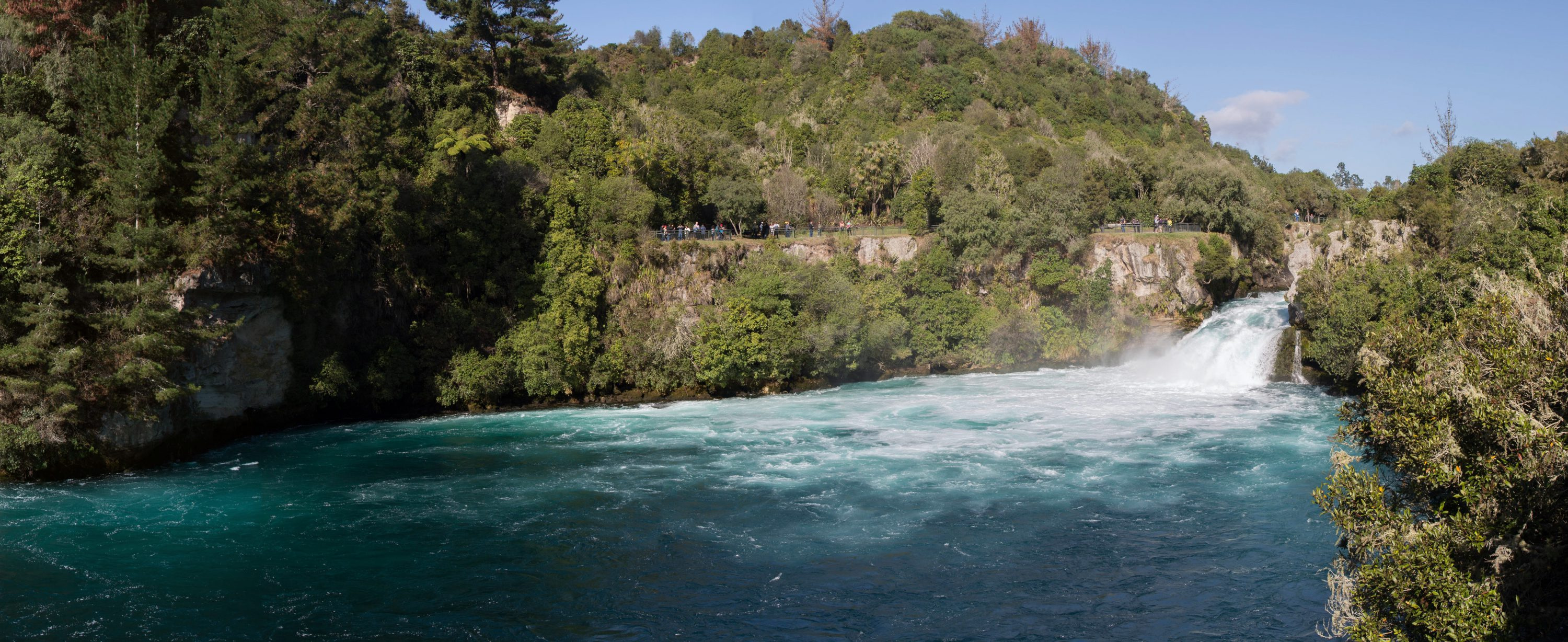 Huka Falls Panorama, Lake Taupo Region