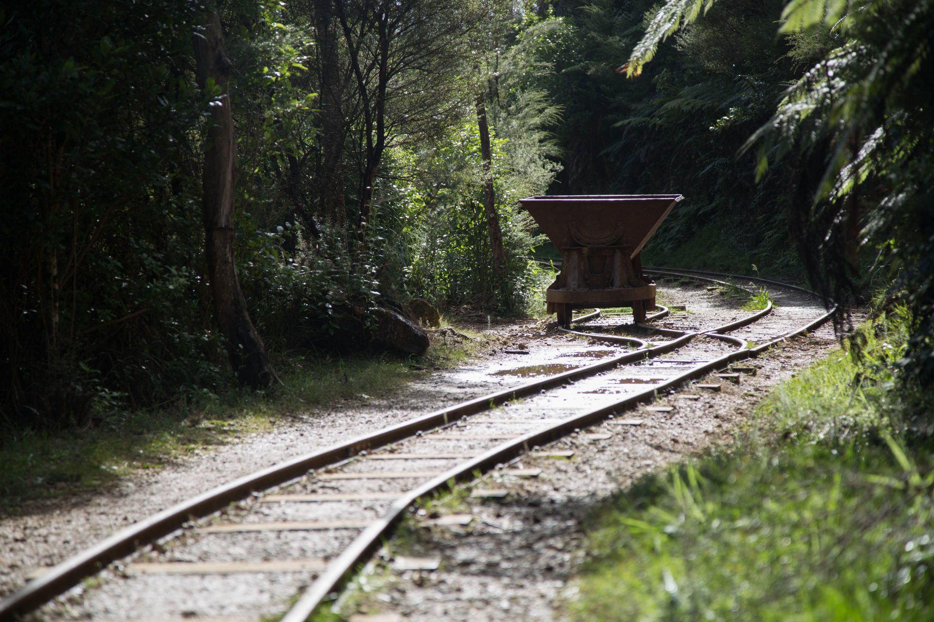 Karangahake, historic goldmining site
