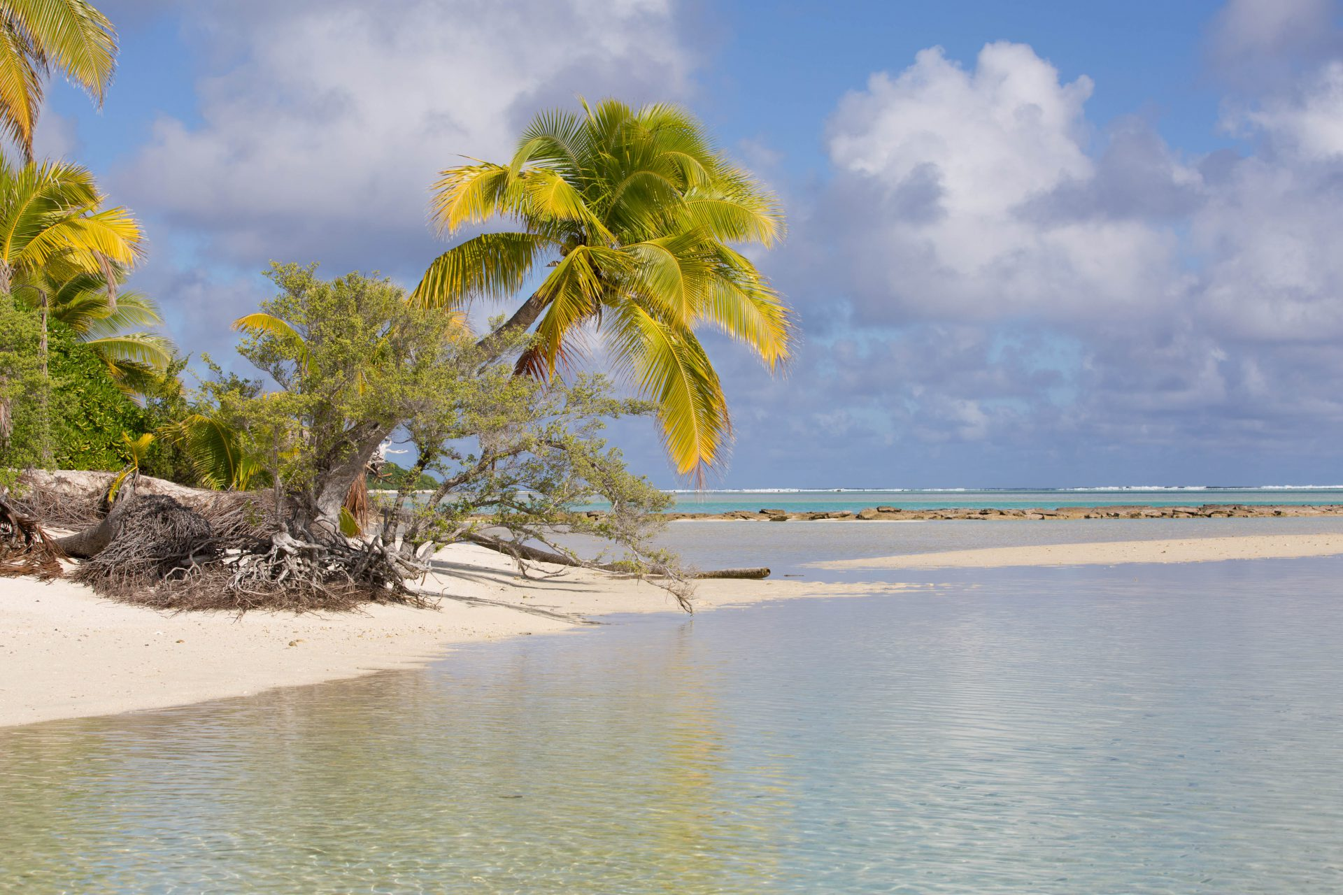 Island in the Lagoon of Aitutaki