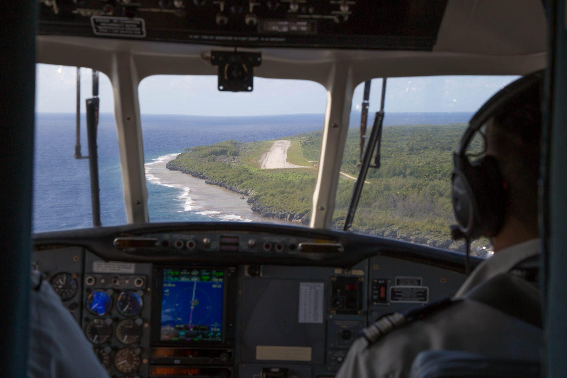 Approaching Atiu