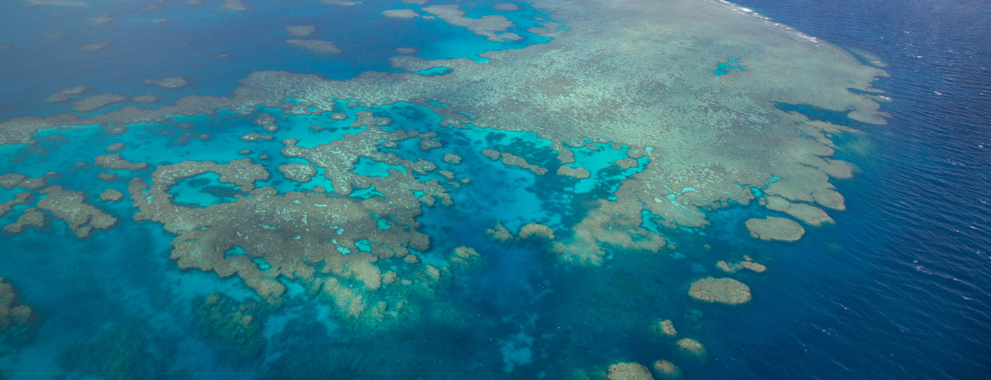 Great Barrier Reef, scenic flight