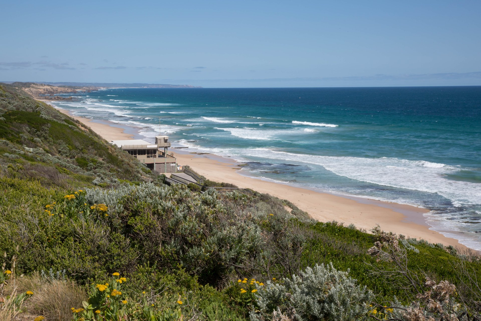 Ocean Beach, near Portsea on the Mornington Peninsula